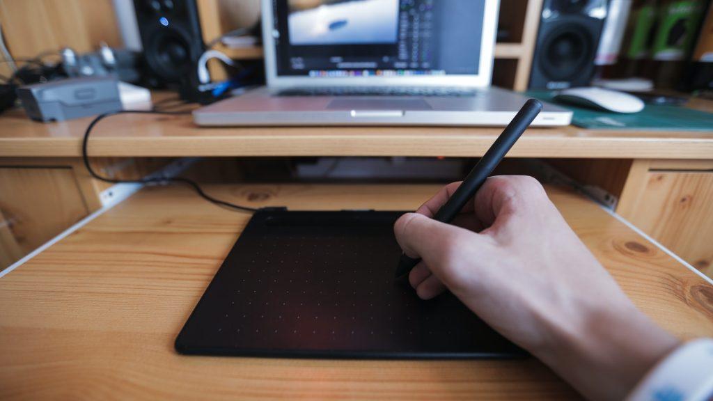 dibujando en tableta