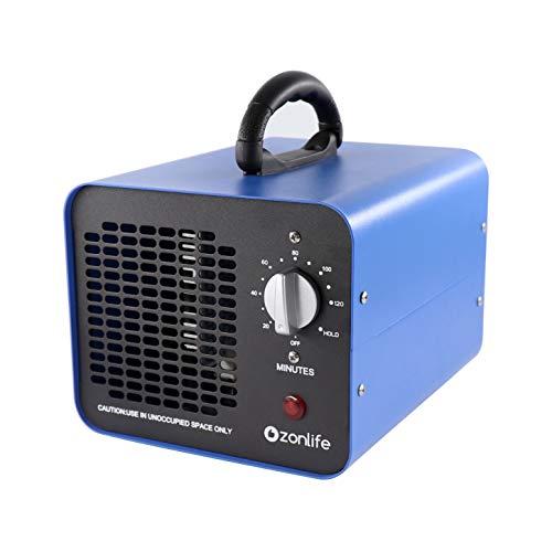 Generatore di ozono Industriale da 10.000mg/h, dispositivo di ozono, purificatore d'Aria Commerciale,con Timer per camere, Fumo, Automobili e Animali Domestici