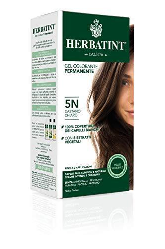 Herbatint Gel Colorante Permanente 5N Castano Chiaro 150ml