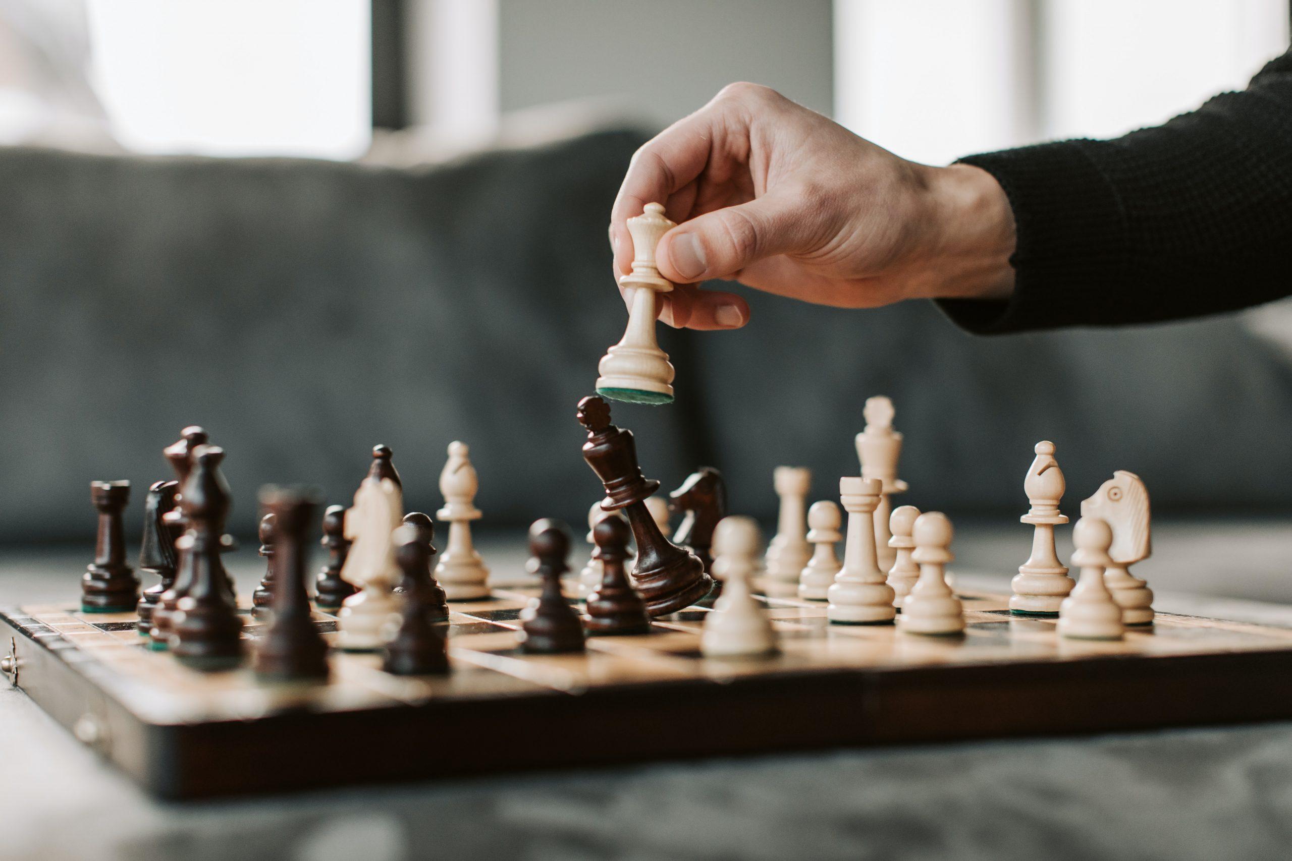 jugada de ajedrez