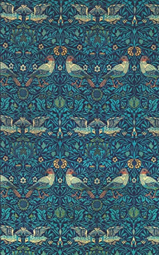 2021: UK Diary 2021 – Page A Day / Planner / Organiser / Journal Writing / Gratitude Journal / Family Diary / Birds by William Morris
