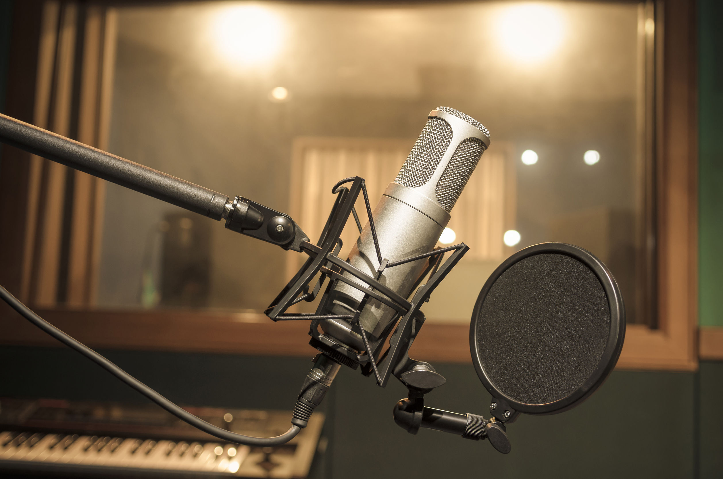 Micrófono de condensador de estudio profesional