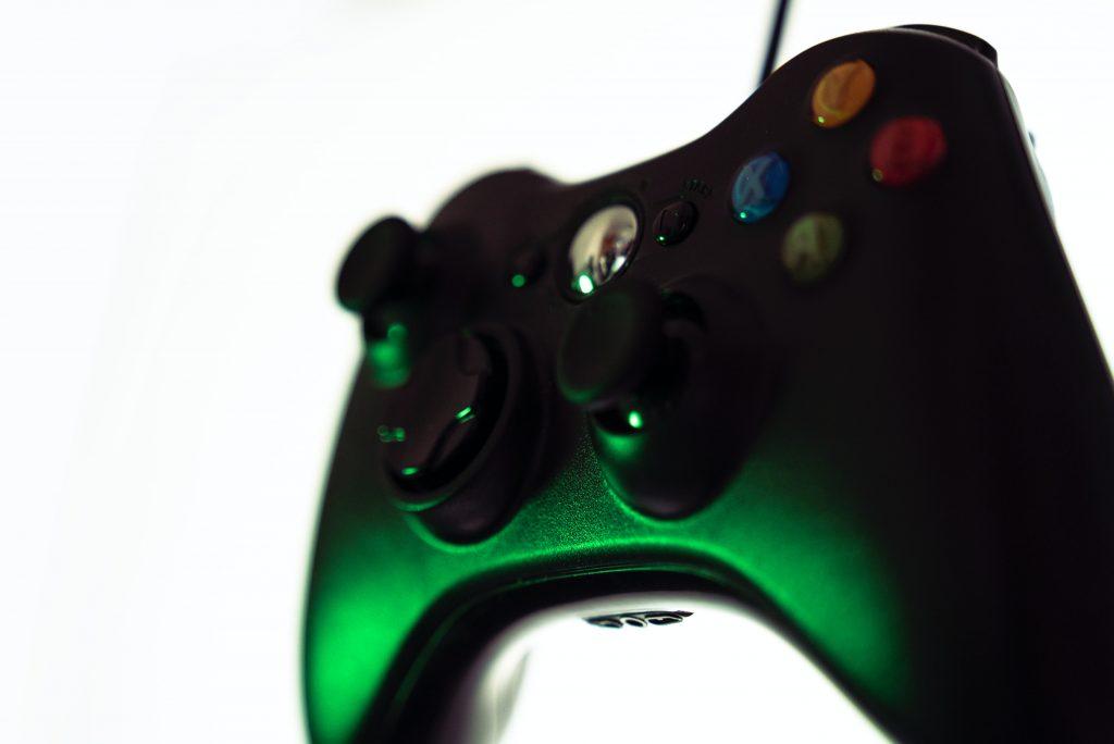 control de xbox verde