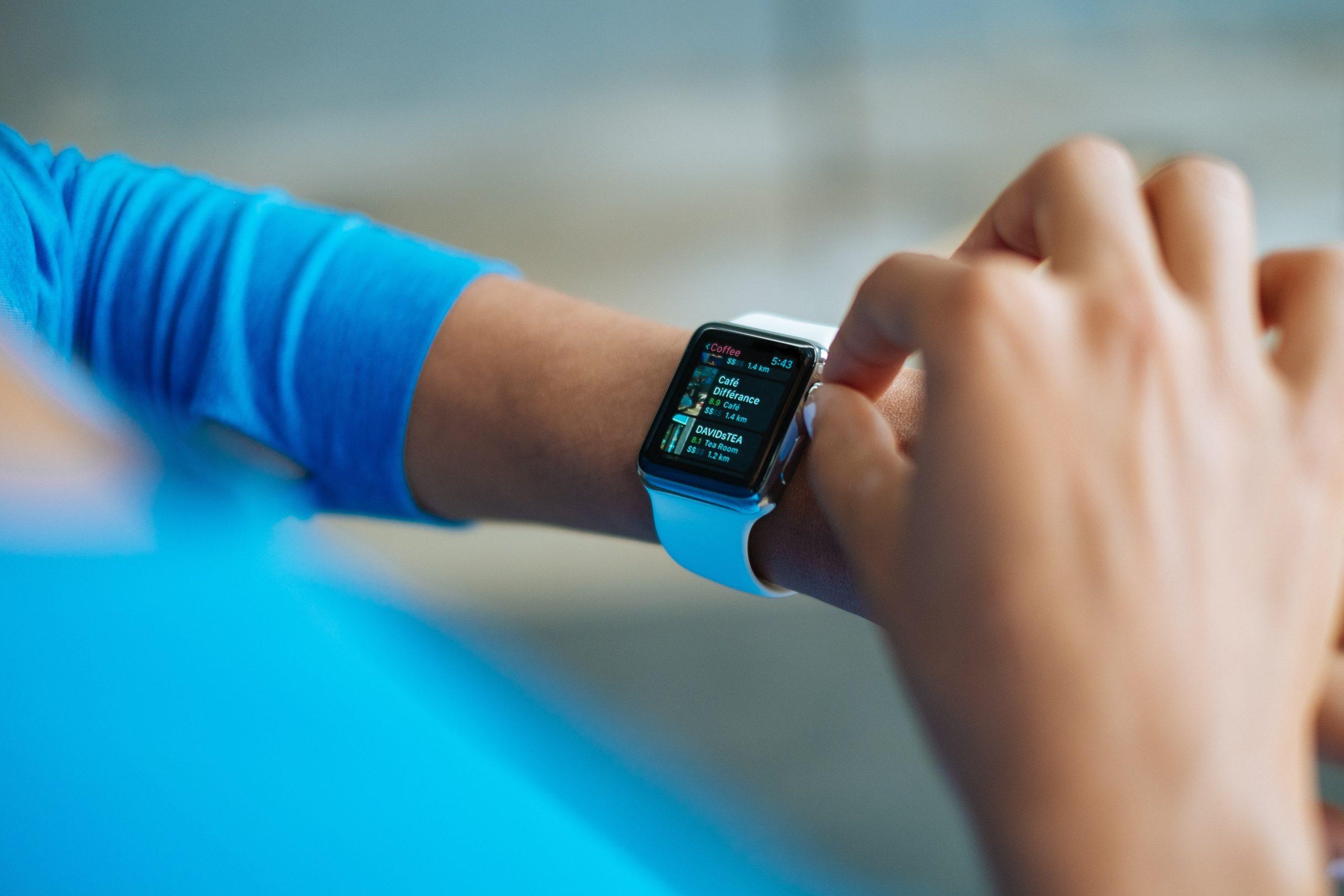 configurando smartwatch