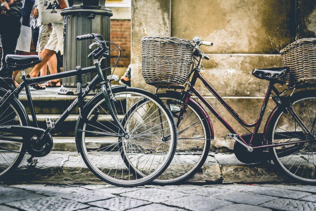 bicicletas con cesta