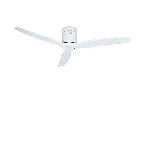 IKOHS Create WINDCALM DC - Ventilatore da soffitto con Funzione Inverno/Estate Ultrasilenzioso