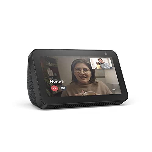 Echo Show 5 (1ª generazione, modello 2019) | Schermo intelligente con Alexa | Resta sempre in contatto con l'aiuto di Alexa | Antracite