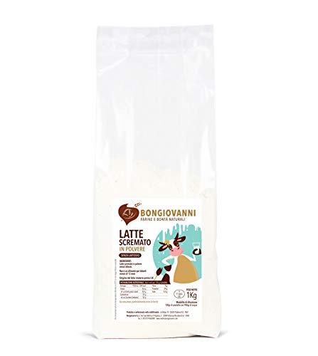 BONGIOVANNI FARINE e BONTA' NATURALI Latte Scremato In Polvere Delattosato 1kg
