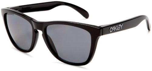 Oakley Occhiali da sole Frogskin OO9013 - 24-306: Nero lucidato