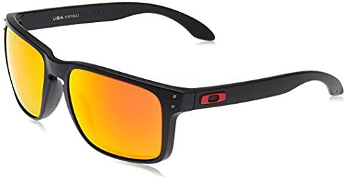 Oakley Holbrook XL 941704 Occhiali da Sole, Multicolore (Matte Black), One Size Uomo