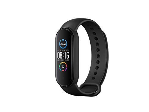 Xiaomi Band 5 Orologio Fitness Tracker Uomo Donna Cardiofrequenzimetro da Polso Contapassi Smartband Sportivo Activity Tracker Versione Globale