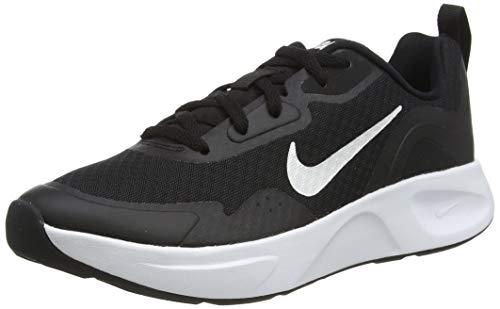 Nike Wmns WEARALLDAY, Scarpe da Corsa Donna, Black/White, 39 EU