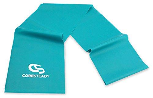 CORESTEADY Fasce di Resistenza Terapeutiche   Bande Fitness di Alta qualità per Pilates, Yoga, Allenamento di Forza, Fisioterapia e Riabilitazione - Ideali per Uomini e Donne