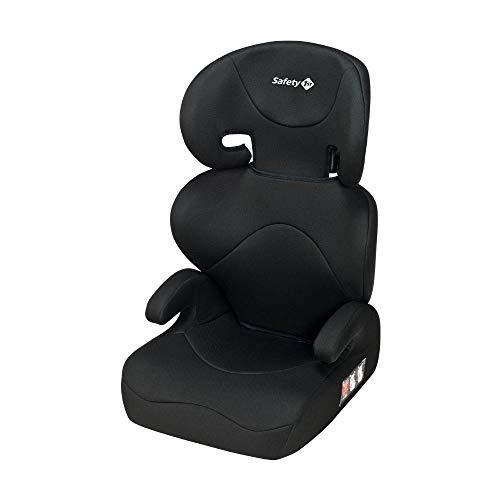 Safety 1st Road Safe Seggiolino Auto 15-36 kg, Gruppo 2/3, Per Bambini da 3.5 a 12 Anni, Reclinabile e Facile da Installare, Nero (Full Black)