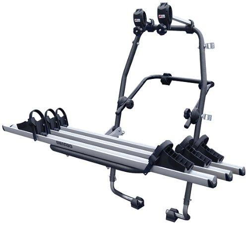 Menabo 000063500000 Stand UP 3 - Portabici posteriore, Adatto a 3 bici con portata max di 45 kg