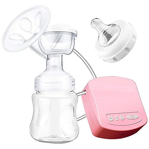 SaponinTree Tiralatte Elettrico e Automatico con Funzione Massaggio, 9 Livelli, Senza BPA, Super Silenzioso e Ricaricabile Tramite USB