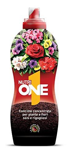 NUTRI 1 ONE One Concime concentrato per Piante e Fiori, 1 litro