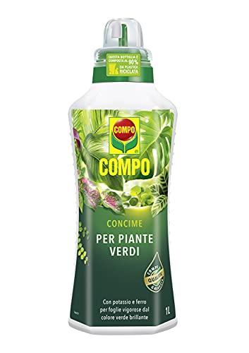 COMPO Concime liquido per Piante Verdi, Per piante d'appartamento e da balcone, 1 l