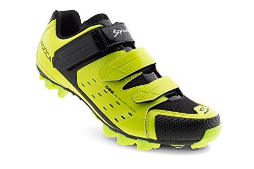 Spiuk Rocca MTB scarpe, Unisex adulto, Giallo Av, 49