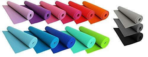 Tappetino Arrotolabile Per Yoga Fitness Aerobica Con Superfice Antiscivolo