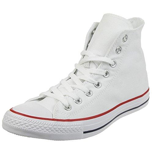 Converse Schuhe Chuck Taylor all Star Hi Optical White (M7650C) 42 Weiss