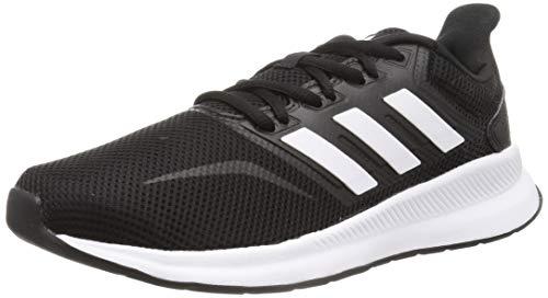 adidas Falcon, Scarpe da Corsa Uomo, Nero Core Black Ftwr White Core Black Core Black Ftwr White Core Black, 44 EU