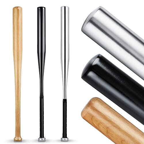 Heldenwerk Mazza da baseball autodifesa in legno o alluminio - Mazze da baseball 31 Pollice - Baseball bat
