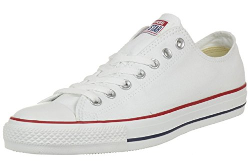 Converse All Star Ox Canvas Sneakers Bianche- UK 3.5