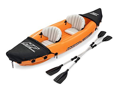 Bestway 65077   Hydro-Force - Kayak Gonfiabile Lite Rapid, 2 posti, 321X88 cm, Pagaie incluse