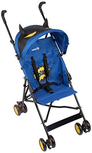 Safety 1st Crazy Peps Passeggino pieghevole, leggero con capottina, Unisex Bambini, Supereroe. Blu