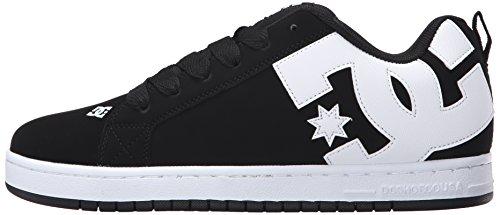 DC Shoes Court Graffik, Scarpe da Pattinaggio da Uomo Nero Size: 42 EU