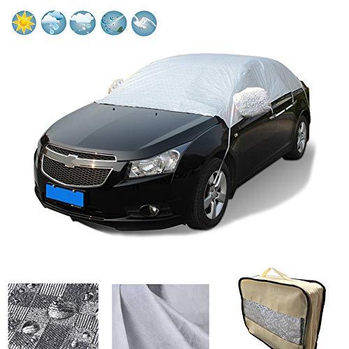 RunSnail Telo Copriauto Impermeabili Inverno, Teli per Copertura Anti-Gelo, UV, Pioggia, Polvere