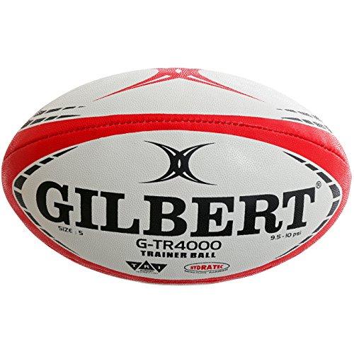 Gilbert G, TR4000, palla da rugby, unisex, per adulti, colore: rosso, 5