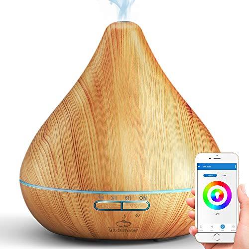 WiFi per Oli Essenziali, Controllo Tramite App, Compatibile con Alexa e Google Home, 300 ml, Umidificatore Cool Mist, per la Purificazione dell'aria e un'Atmosfera Rilassante