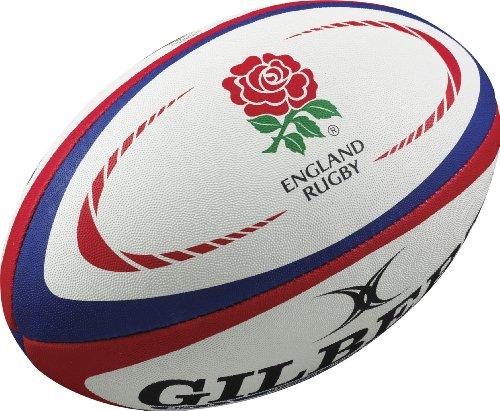 GILBERT Inghilterra International Replica Pallone da Rugby, 5 - Inghilterra