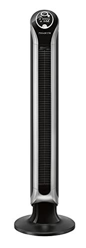 Rowenta VU6670 Eole Infinite, Ventilatore a Torre, Timer fino a 8 ore, 3 Velocità, Telecomando, Spegnimento Automatico