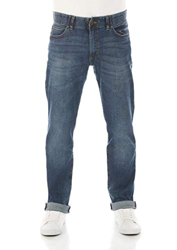 Lee Extreme Motion Straight Fit Jeans Uomo, Blu (Maddox Pu), 33W / 34L