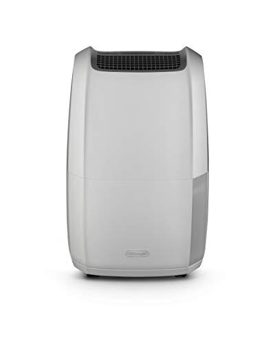 De'Longhi DDSX225 Tasciugo AriaDry Deumidificatore Ambiente Casa, 446 W, 25 Litri, 44 Decibel, Plastica, Bianco