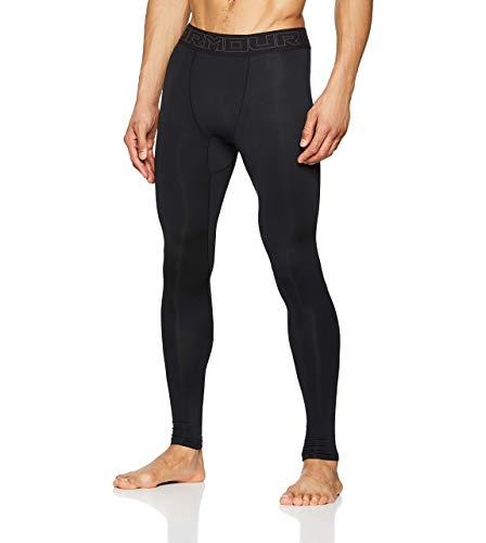 Under Armour ColdGear, Pantaloni a Compressione Uomo, Nero, L