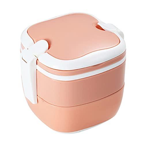 BESTonZON Forno a Microonde Scatola di Pranzo Pasto Prep Porzione Bento Lunchbox Bento Box A Tenuta Portatile Spuntino di Imballaggio Contenitore di Scatola per I Bambini Adulti di Scuola