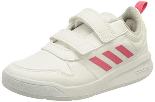 adidas TENSAUR C, Scarpe da Corsa Unisex-Bambini, Ftwr White/Real Pink/Ftwr White, 30 EU