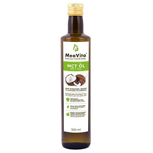 Mea Vita Olio Meavita Mct, Qualità Premium - 500 ml