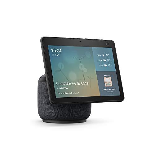 Echo Show 10 (3ª generazione)   Schermo intelligente in HD con movimento e Alexa, Antracite