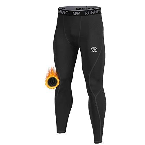 MEETWEE Pantaloni Termici Uomo, Calzamaglia Termica Biancheria Intima Traspirante Asciugatura Rapida per Ciclismo e Lo Allenamento Sci Corsa