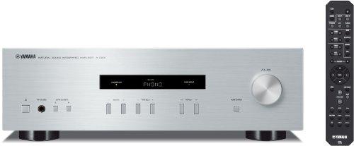 Yamaha A-S201 Amplificatore Integrato, Silver