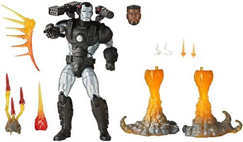 Hasbro Marvel Legends Series E9301 Marvel Legends Series-War Machine (Action Figure Deluxe 15 cm da Collezione con 8 Accessori)