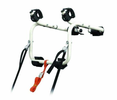 Peruzzo PE BDG 381 Portabici Posteriore Bassano del Grappa, Acciaio, Porta 1 Bicicletta, Carico Massimo Totale 17 kg, Bianco