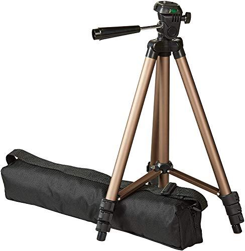 Amazon Basics - Treppiedi leggero per fotocamera, con custodia, da 41,91 a 127 cm