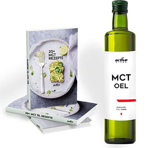 ACTIVEVITAL C8 MCT Oil Olio 500ml Neutrale Puro C8 Olio Di Cocco Bulletproof CoffeeVegan