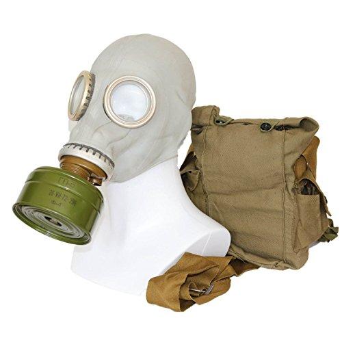 OldShop Set Maschera Antigas GP5 – Replica di Maschera Militare Sovietica Russa